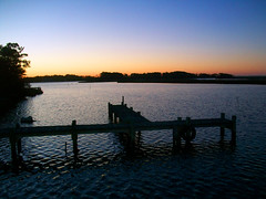 Dusk (Chris - Topher) Tags: sunset obx colington north carolina nc outer banks water sound bay kill devil hills