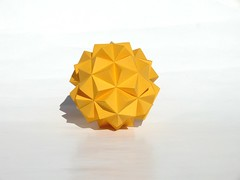 Knotology dodecahedron (Ivo_BG) Tags: paper paperstrips knotology