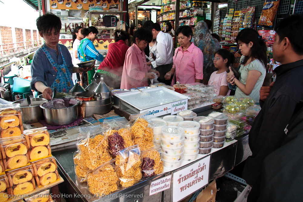 Dessert Vendor @ Money Diluting Lane, Bangkok, Thailand