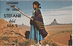 Stephannie and the Coyote (Calsidyrose) Tags: coyote book indian nativeamerican story language navajo bilingual ephemeravintagetypefacefontillustrationartworkgraphic