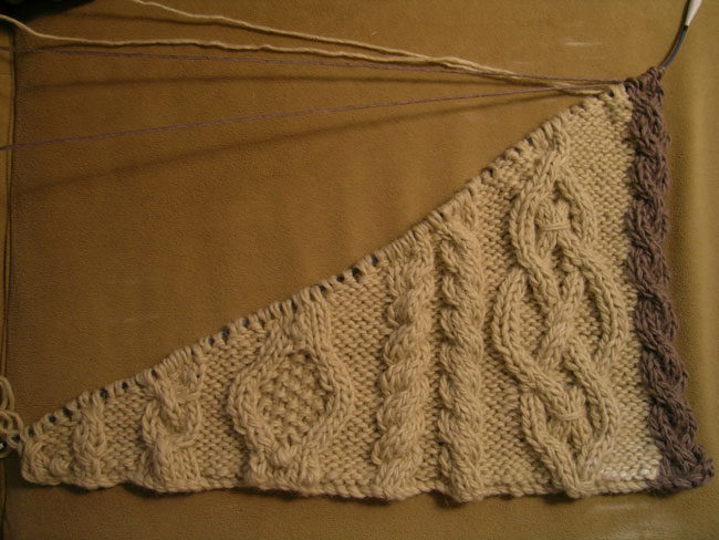Aran Tree Skirt