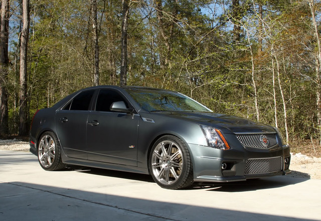 Cadillac CTS-V w HRE Forged Monoblok P41 01 by HRE Wheels