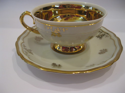 haviland china johann haviland bavaria antique china teacup set gold floral