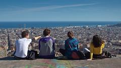 Barcelona viewpoint (mislav-m) Tags: barcelona city sea cityscape view horizon wide viewpoint