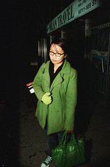 green (teh hack) Tags: chile color art film 50mm gold pub nikon kodak body flash 28mm off e 200 series crown benefit nikkor f18 flickrmeet bounce strobe fe2 sb28 soligar sc28 yesforreal