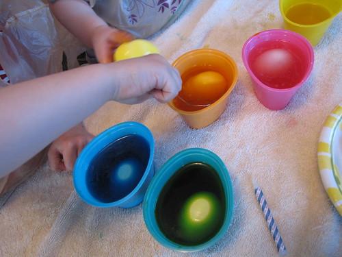 egg dyeing #1 2010