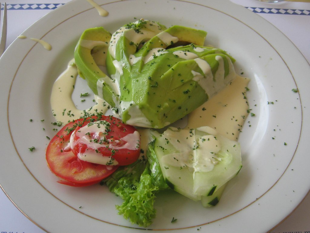 Avocados are a popular starter (appetizer) in Rwanda.