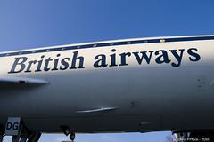 Concorde (Trance-Elbow) Tags: uk museum plane aircraft surrey concorde weybridge brooklands enland canoneos400d