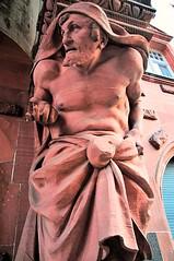 Frankfurt Bridge Relief over the Seufzerbrcke (mbell1975) Tags: city sculpture statue germany deutschland town hall cityhall alt frankfurt eu stadt rathaus altstadt rmer seufzerbrcke