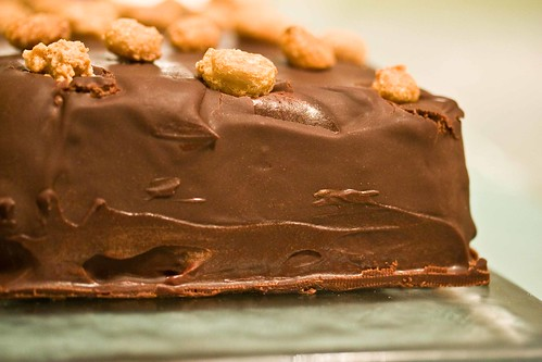 chocolate peanut butter terrine