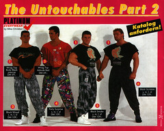 The Untouchable Workout Pants (Living Pages) Tags: fashion trash training vintage magazine muscle bodybuilding retro 80s muscleman bodybuilder