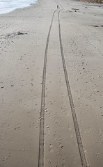 Lines in the Sand (AmyKClark!) Tags: beach water lines vanishingpoint sand hero winner