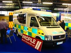 VW LT46/Profile (barronr) Tags: england yorkshire ambulance harrogate