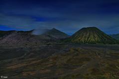 Mt. Bromo and Mt. Batok (ihrivera) Tags: indonesia landscape volcano landscapes java nikon 1224 d300 mountbromo