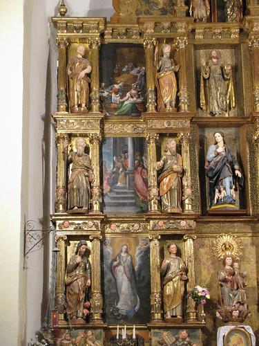Iglesia de Santa María de la Asunción - Izquierda retablo mayor
