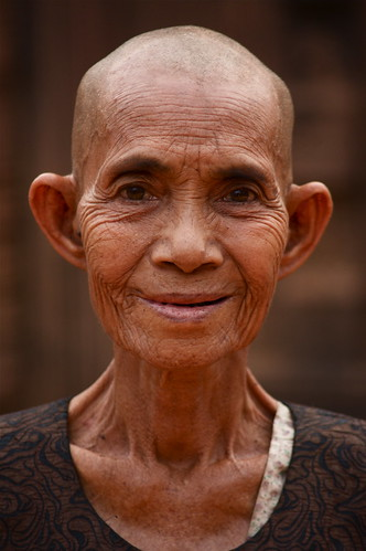 A Venerable Cambodian Lady