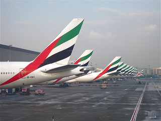 Emirates Airlines at Dubai Airport