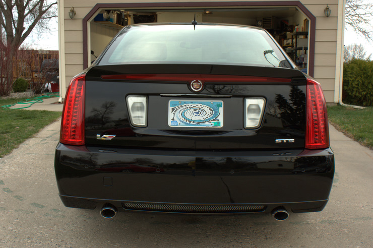2008 Cadillac STS-V after major paint correction