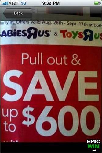 babies r us logo. Babies-R-Us Win