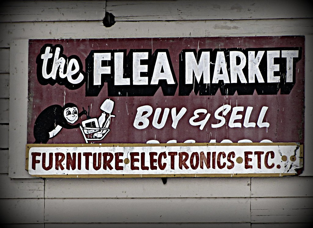 Flea Market madness!