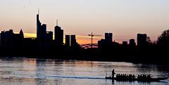 Frankfurt Skyline (Imagonos) Tags: slr silhouette skyline skyscraper nikon sonnenuntergang outdoor frankfurt main dslr impression frankfurtmain metropole hochhaus gegenlicht ves wolkenkratzer hochhäuser d90 nikond90 d3000 dslrphotography citypicture imagonos scherenschnittlook