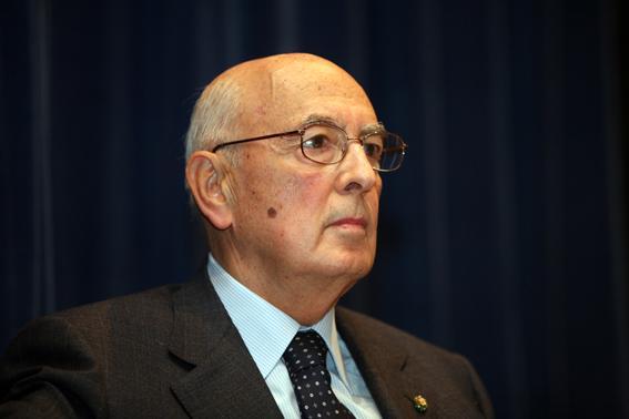 Giorgio Napolitano al Quirinale