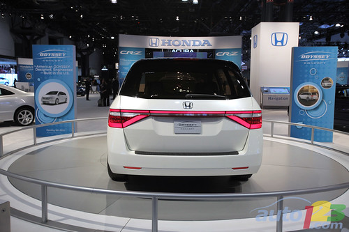 honda odyssey 2012 pictures. Honda Odyssey Concept