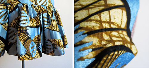 Vintage Drop Waist 1980s Tribal Party Dress
