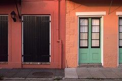French quarter houses