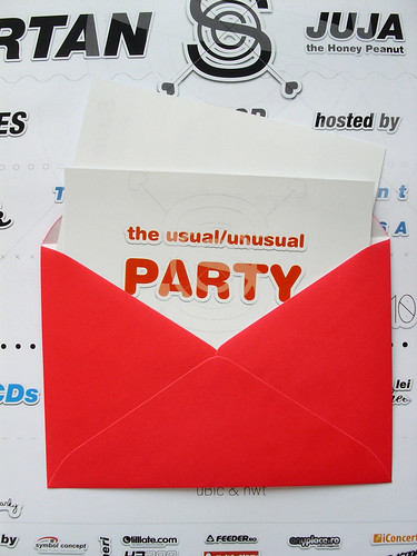 usual/unusual party – materiale