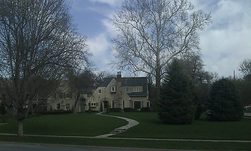 A mansion near Elmwood Park