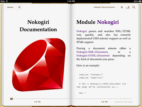 Nokogiri on iPad