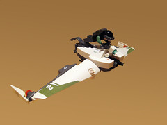 Neo-Nausicaa Glider (chris glenn) Tags: lego scifi glider nausicaa