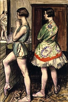 "Laura Knight, ""Ready for Rehearsal"""