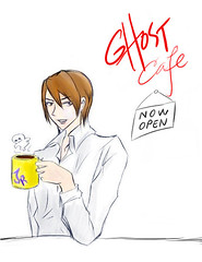 Cover art for Ghost Cafe: Now Open