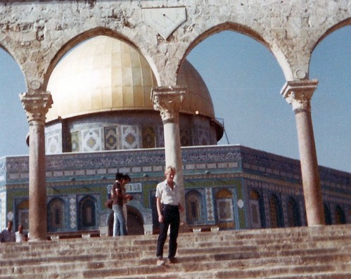 David Hoover on Temple Mount