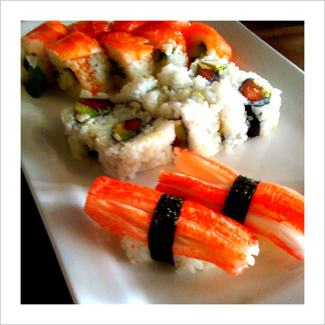 Sushi from Rain, Cordova, Tenn.