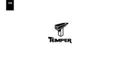 day 100 - temper (Srdjan Kirtic) Tags: logo typography graphicdesign symbol mark diary identity type 365 concept conceptual brand logos branding logotype logodesign freelancer logomark wordmark 365project logodesigner daily365 freelancegraphicdesigner design365 wizemark 365design 365logoproject