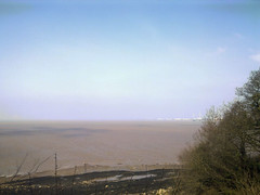 Contrail-free Severn Estuary