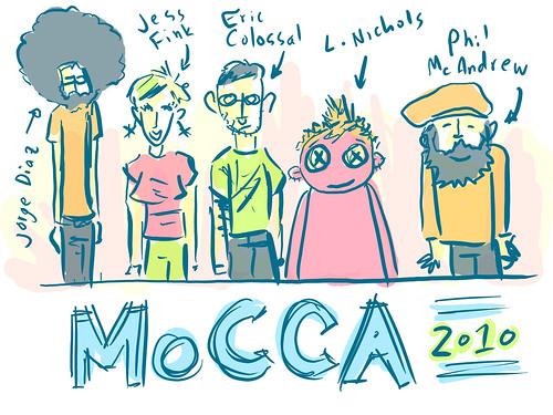 MoCCA Sketch