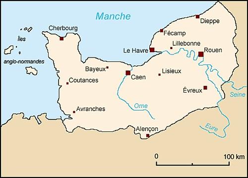 000-Mapa de Normandía