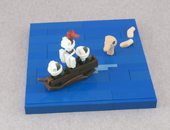 The Atlantic Ostrich (Titolian) Tags: ocean sea water monster boat ship lego ostrich tribute nnenn