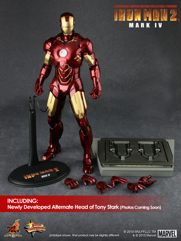 Iron Man 2 Mark IV includes