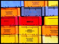 Nordfilet (BlindPew) Tags: fish color fishing harbour equipment boxes bornholm arnager nordfilet