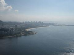 Praia do Flamengo (cassunca) Tags: brazil praia beach riodejaneiro rj sugar loaf urca baiadeguanabara paodeacucar praiadoflamengo fragata praiadaurca
