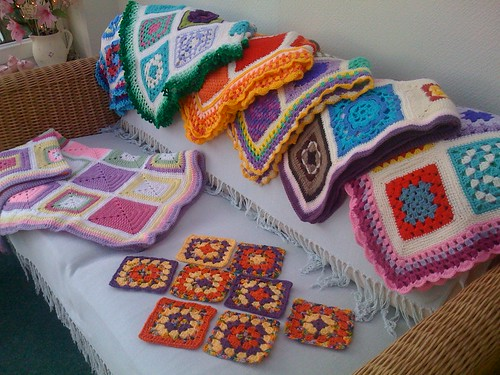 'The Garden Bells' Squares meet the '7' SIBOLS!.