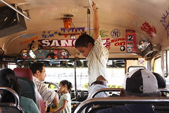Waiting for the bus (Lachlan Towart) Tags: travel people bus kids granada nicaragua centralamerica chickenbus lpchildren