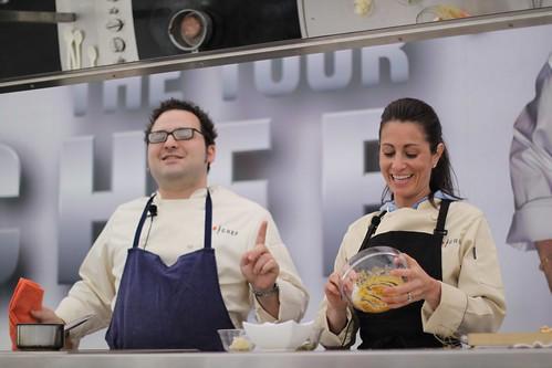Eli Kirshtein and Nikki Cascone on the Top Chef Tour