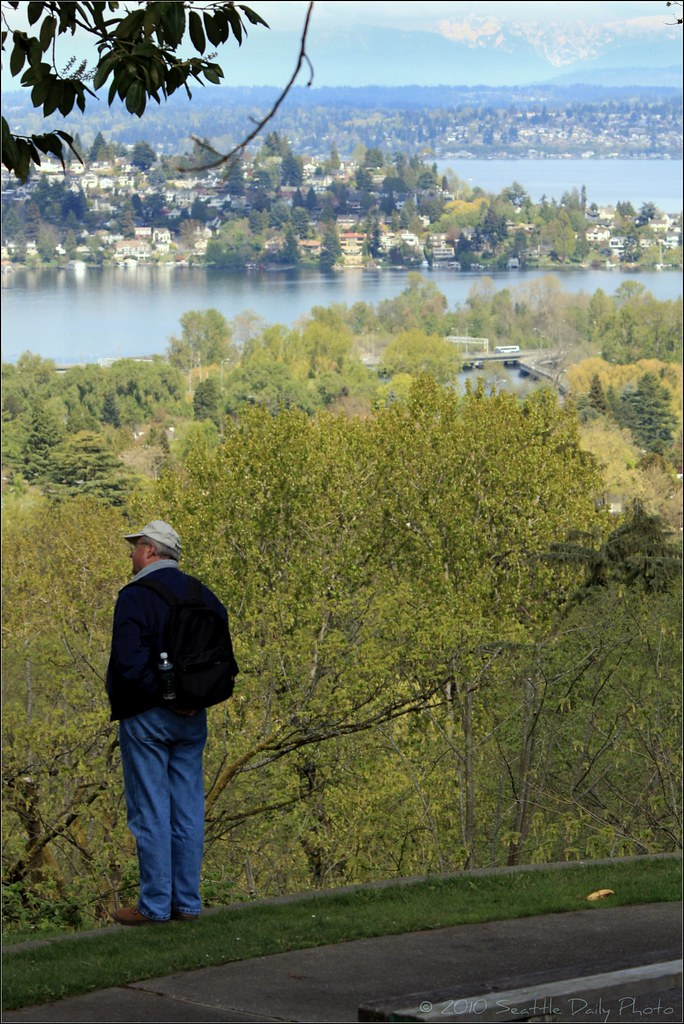 View of Laurelhurst and Montlake