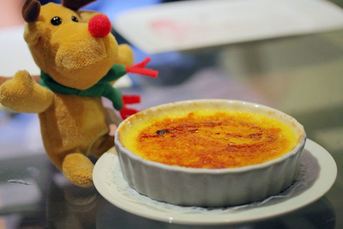 Moose with Lemon Creme Brulee by Mu Yao
